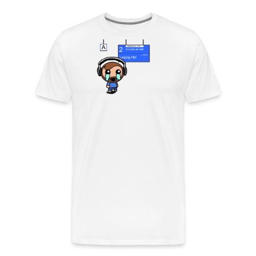 Bahn Delay - Männer Premium T-Shirt
