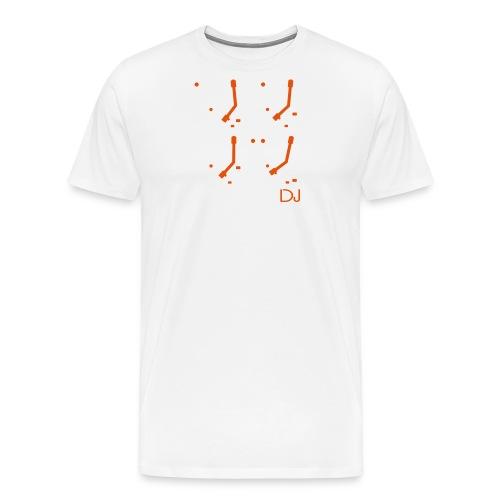 I DJ PRO DJ 4 Turntables 2 color - Men's Premium T-Shirt
