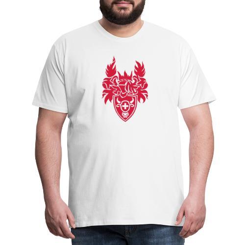 SCHWEIZER WAPPEN, T-SHIRTS, SCHWEIZER GESCHENK - Männer Premium T-Shirt