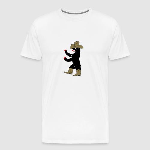 Berlin Bär cowboy - Männer Premium T-Shirt
