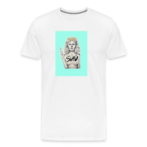 Slav - Premium-T-shirt herr