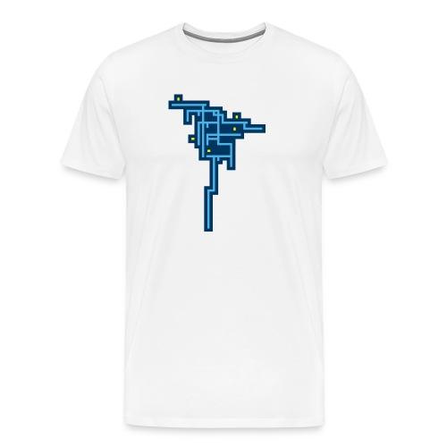 Blue Tree - Camiseta premium hombre