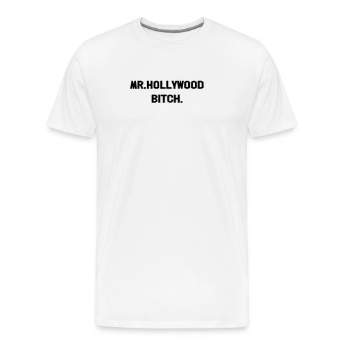 Mr. Hollywood Dame - Premium T-skjorte for menn