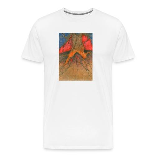 Roots - Koszulka męska Premium
