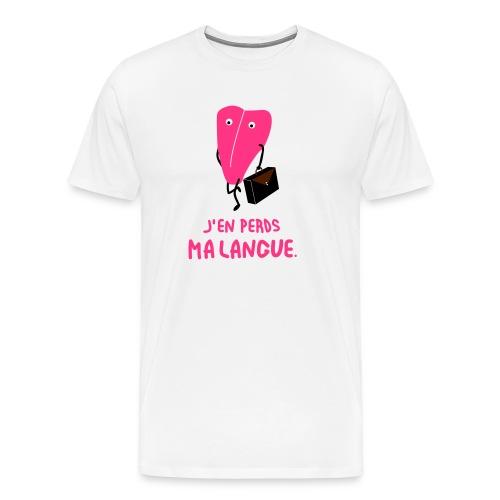 j'en perds ma langue - T-shirt Premium Homme