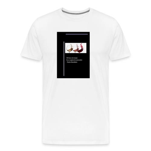 vino1 - Maglietta Premium da uomo