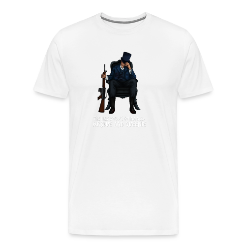 MrBlue's New World - Men's Premium T-Shirt
