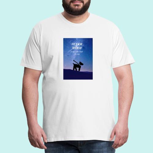 TAKE ME FOR WALK - Koszulka męska Premium
