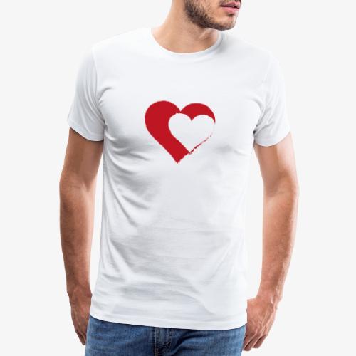 2LOVE - Maglietta Premium da uomo