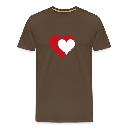 2LOVE - Herre premium T-shirt