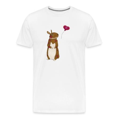 Valentine bunny - Men's Premium T-Shirt
