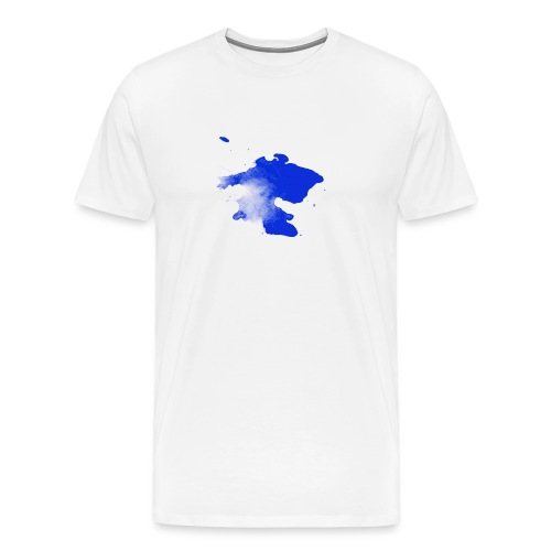 ink splatter - Men's Premium T-Shirt