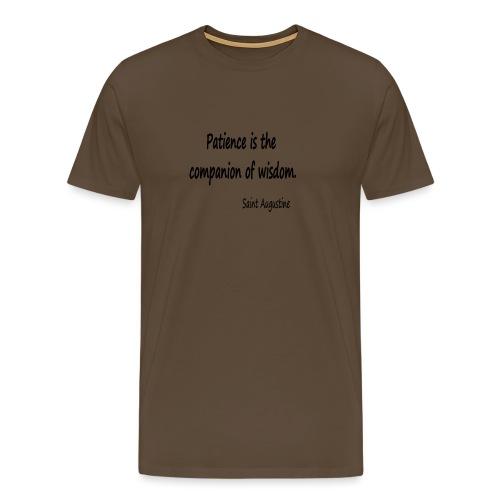Peace and Wisdom - Men's Premium T-Shirt