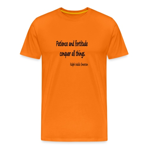 Peace and Patience - Men's Premium T-Shirt