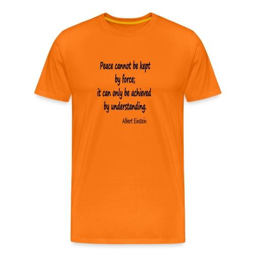 Achieve Peace - Men's Premium T-Shirt