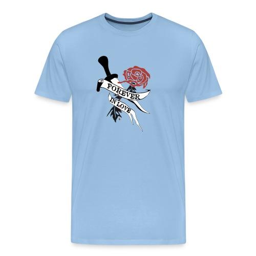 Forever in Love - Männer Premium T-Shirt