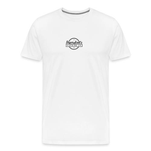 rogers copy png - Premium T-skjorte for menn