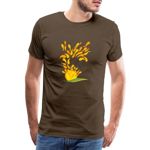 sorge il sole - Maglietta Premium da uomo