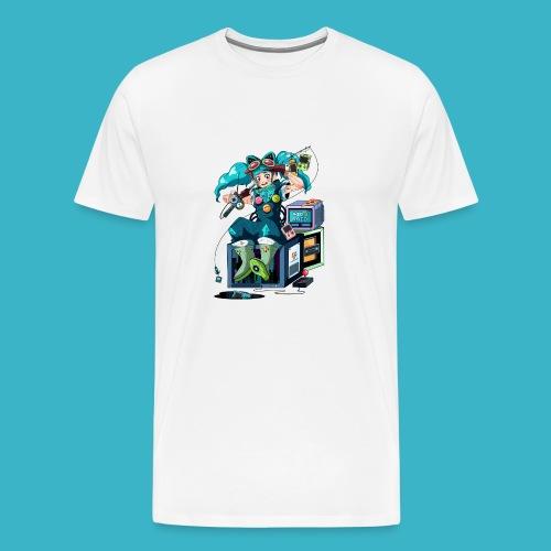 AID RAID Maskottchen by pfannkuchenherz - Männer Premium T-Shirt