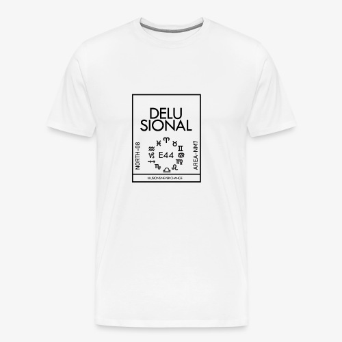 DELUSIONAL - Men's Premium T-Shirt