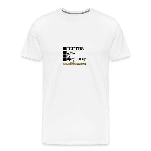 dwisrequired - Men's Premium T-Shirt