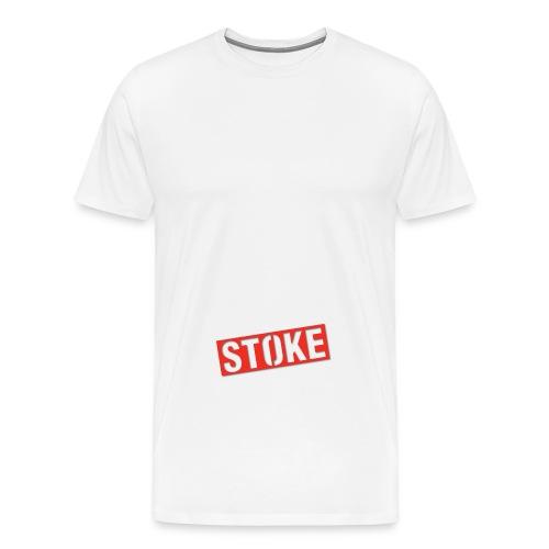 stoke logo png - Men's Premium T-Shirt
