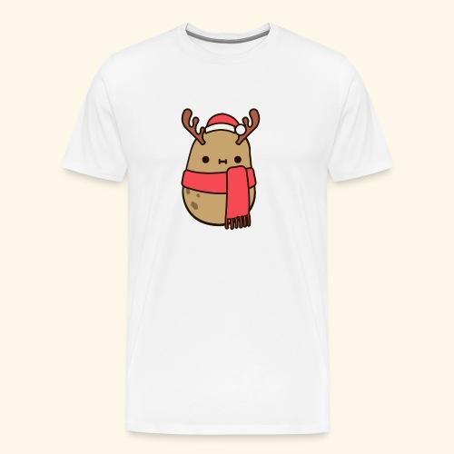 Papa Navideña - Camiseta premium hombre