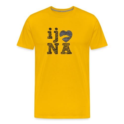 Ij amo Napule - Maglietta Premium da uomo