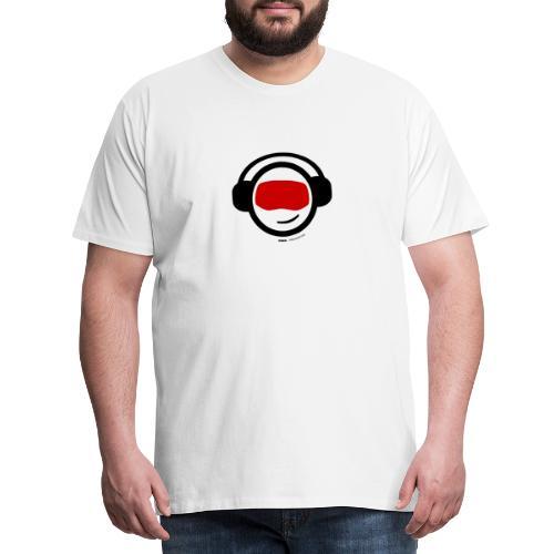 Hiber Head - black text - Men's Premium T-Shirt