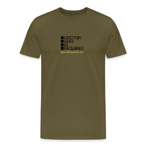 dwisrequired - Men's Premium T-Shirt