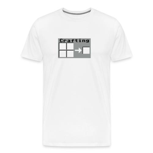 Crafting 2farbig - Männer Premium T-Shirt