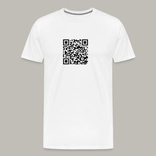 OwlyVky qrcode - T-shirt Premium Homme