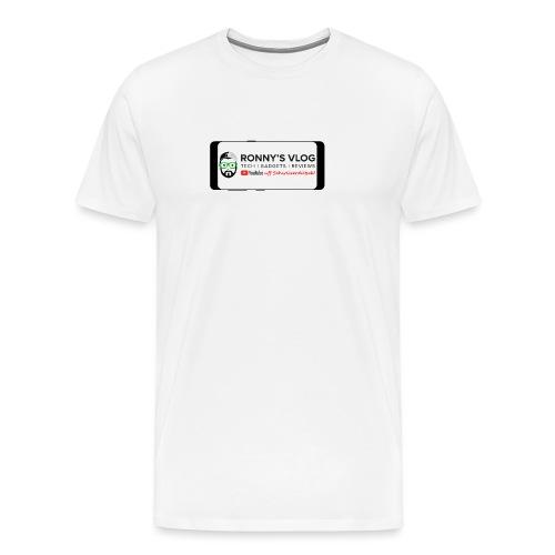 Galaxy S8 by Ronny's Vlog - Männer Premium T-Shirt