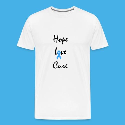 HD HOPE LOVE CURE - Men's Premium T-Shirt