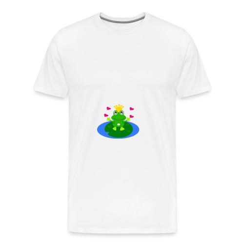 Froschkönig mit Händen - Männer Premium T-Shirt