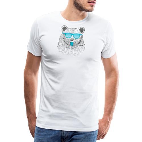 BABO blue Bär - Männer Premium T-Shirt