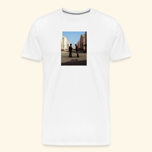 wish you were here design - Mannen Premium T-shirt