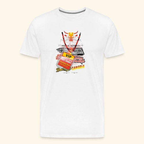 lustiges Sauftour-Shirt Booze Cruize - Männer Premium T-Shirt