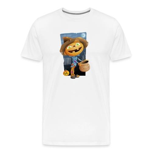 Halloween Citrouille et Friandises - T-shirt Premium Homme