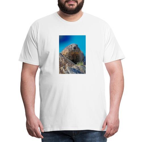 Das Murmeltier - Männer Premium T-Shirt