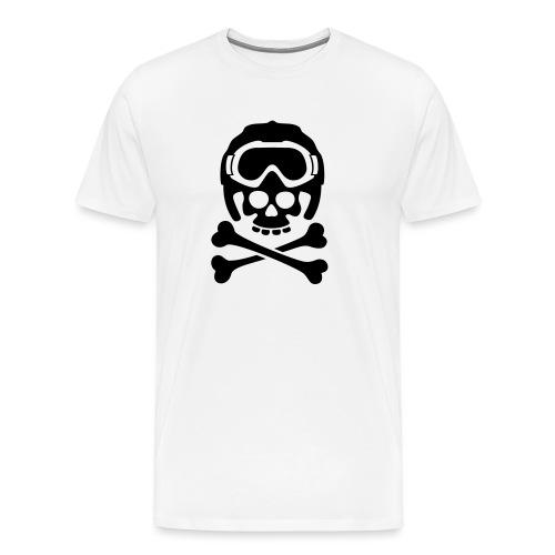 snowboard totenkopf1 - Männer Premium T-Shirt