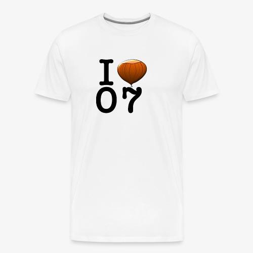 I Love 07 - T-shirt Premium Homme