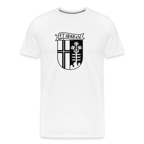 Logo sw - Männer Premium T-Shirt