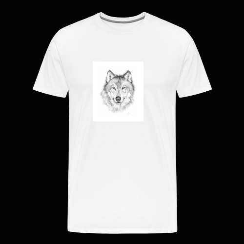 Wolf - Herre premium T-shirt