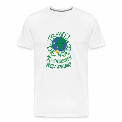 Travel The World - New Drinks - Männer Premium T-Shirt