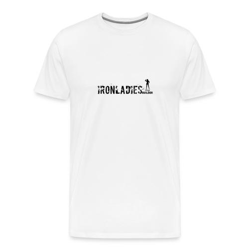 IRONLADIES.LOGO, - Maglietta Premium da uomo