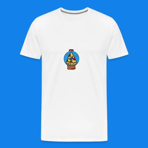 pizza the great food - Camiseta premium hombre
