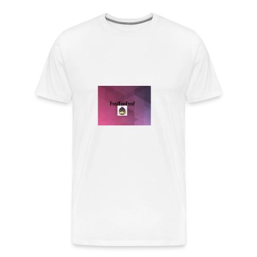 FeedForFeed! logo - Premium T-skjorte for menn