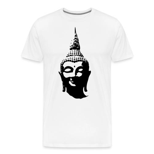 Boeddha hoofd - Mannen Premium T-shirt
