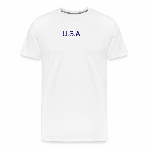USA LOGO - T-shirt Premium Homme